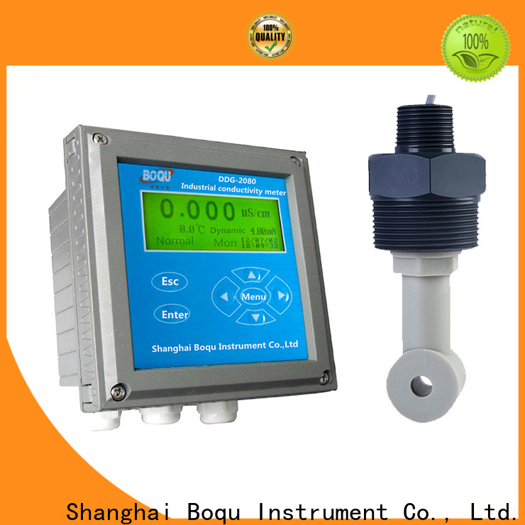 BOQU alkali concentration meter supplier for chemical industry