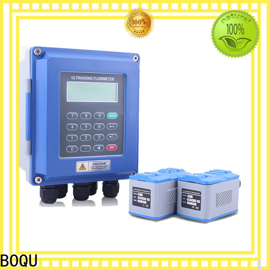 BOQU top ultrasonic water flow meter company for waste water application