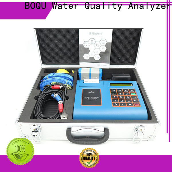 BOQU ultrasonic water flow meter supply for wastewater treatment plants