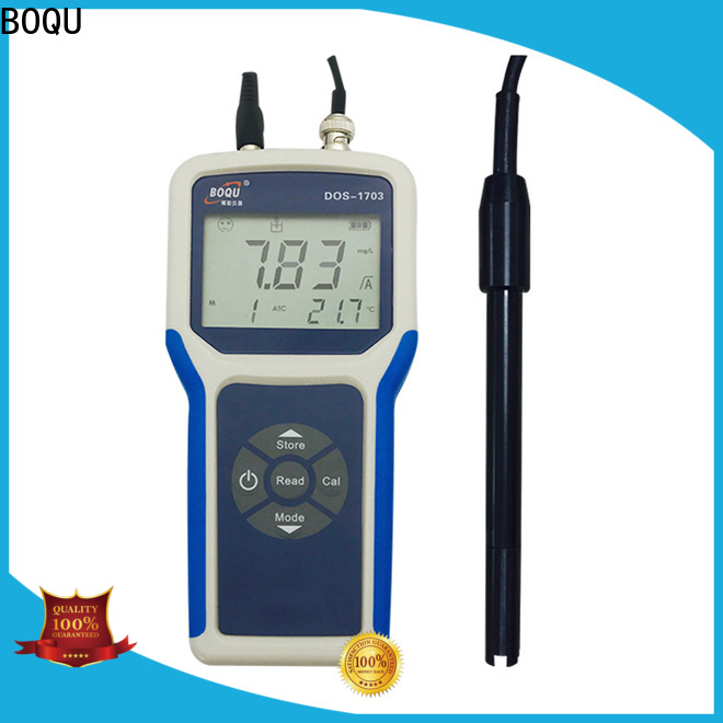 BOQU portable dissolved oxygen meter from China for water supply