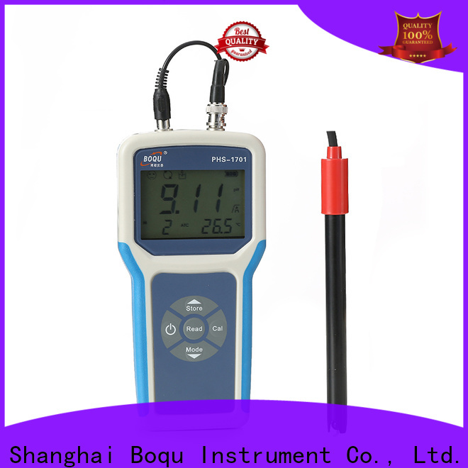 BOQU portable ph meter series for research institutes