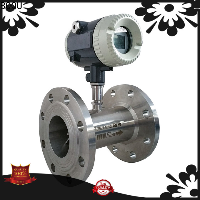 BOQU high precision turbine flow meter directly sale for environment protection