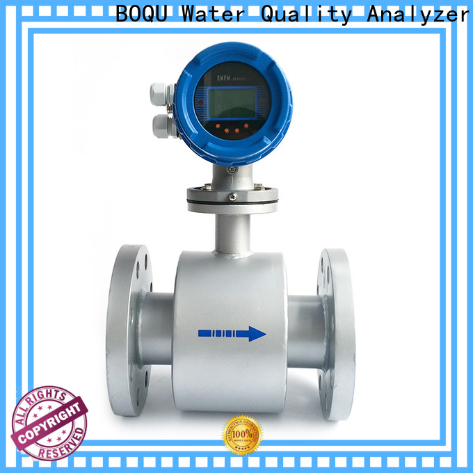 BOQU intelligent electromagnetic flow meter factory direct supply for dirty liquid