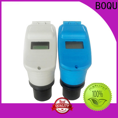 BOQU long life ultrasonic level meter factory direct supply for chemical