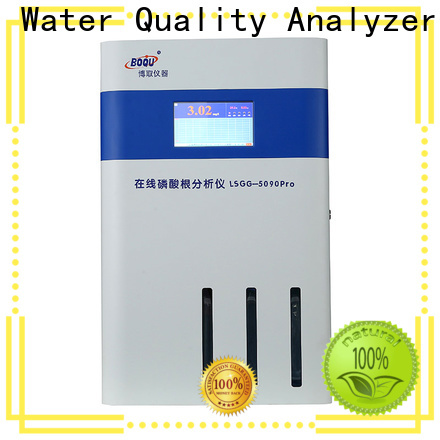 high precision online phosphate analyzer supplier for municipal wastewater effluents