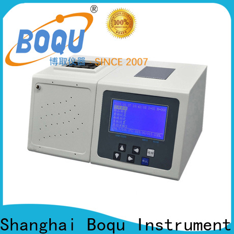 BOQU safe cod analyzer factory for wastewater treatment plants