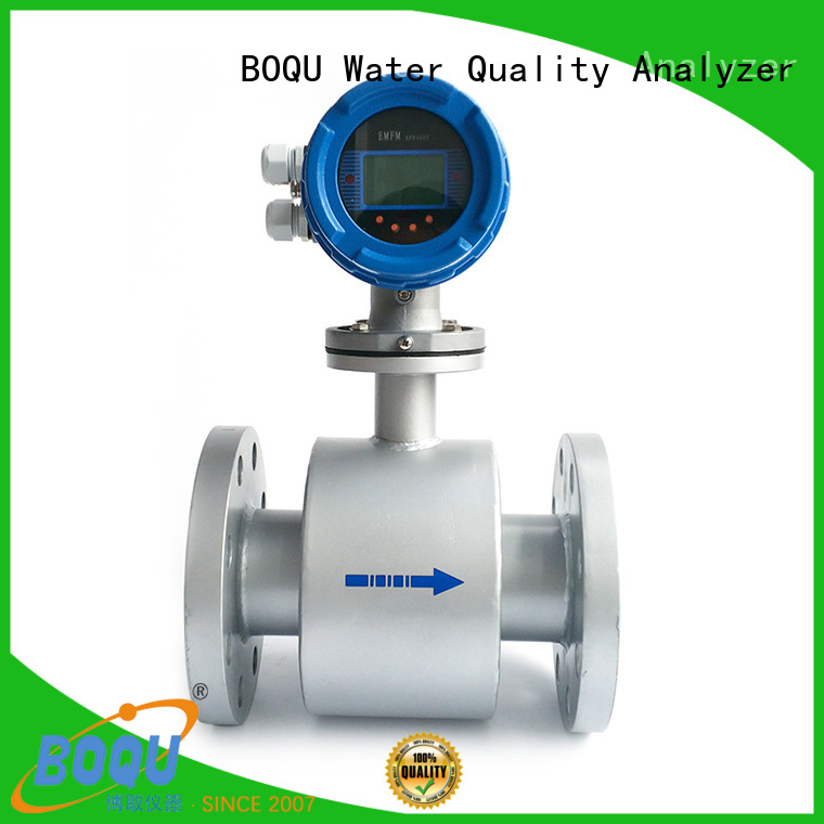 BOQU advanced magnetic flow meter directly sale for dirty liquid