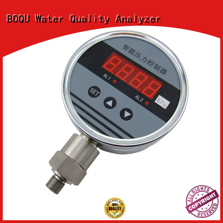 BOQU flexible digital pressure gauge factory direct supply for chemical