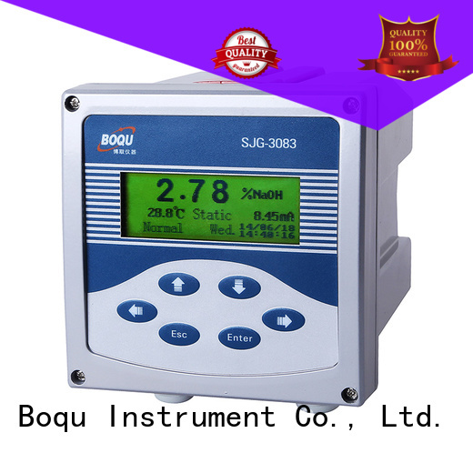 BOQU reliable alkali concentration meter directly sale for water plant