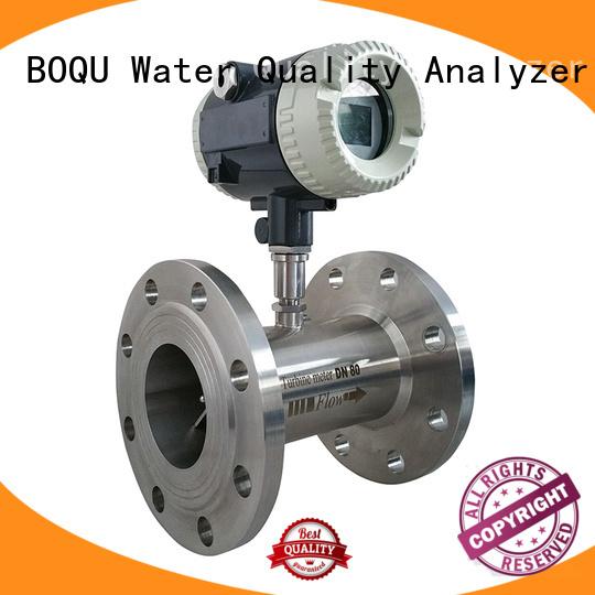 BOQU easy to install turbine flowmeter series for environment protection