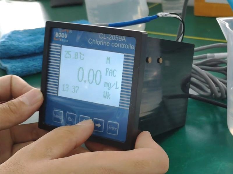 Calibration of CL-2059A Residual chlorine meter