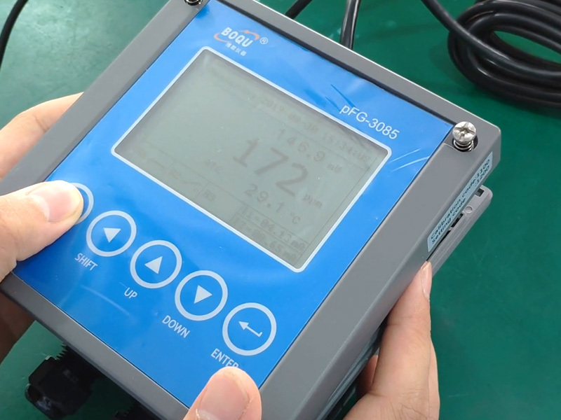 Calibration of PFG-3085 Online Ion meter