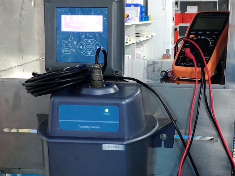 Calibration of ZDYG-2088YT Online turbidity meter
