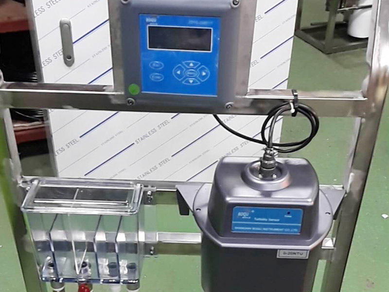 Application of Turbidity and Suspended Solid Meter