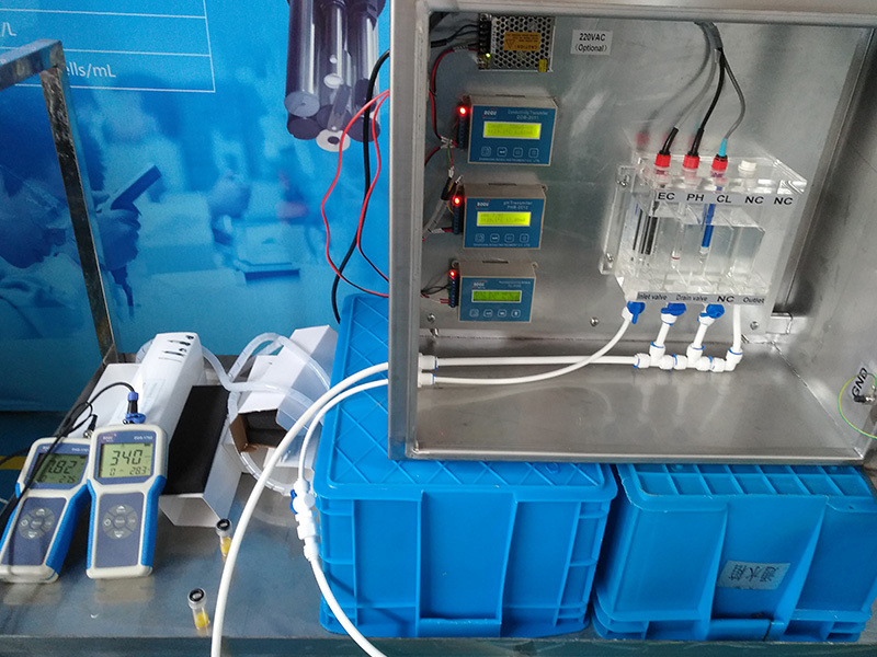 Customized Multi-parameters Water Quality Analyzer for Singapore