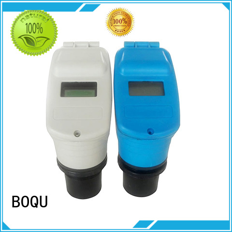 BOQU reliable ultrasonic level sensor directly sale for water treatment