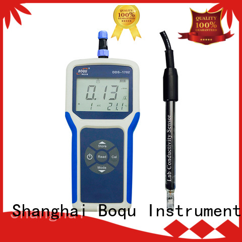 BOQU convenient portable conductivity meter supplier for environmental monitoring