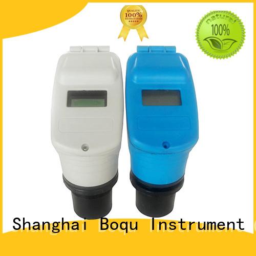 BOQU ultrasonic level sensor manufacturer for water treatment