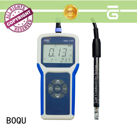 BOQU efficient portable conductivity meter wholesale for environmental monitoring