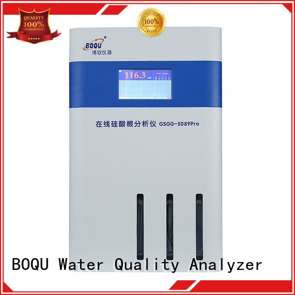 BOQU automatic online silica analyzer manufacturer for water quality monitoring
