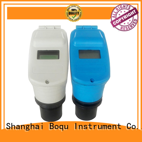 BOQU long life ultrasonic level meter directly sale for food processing industries