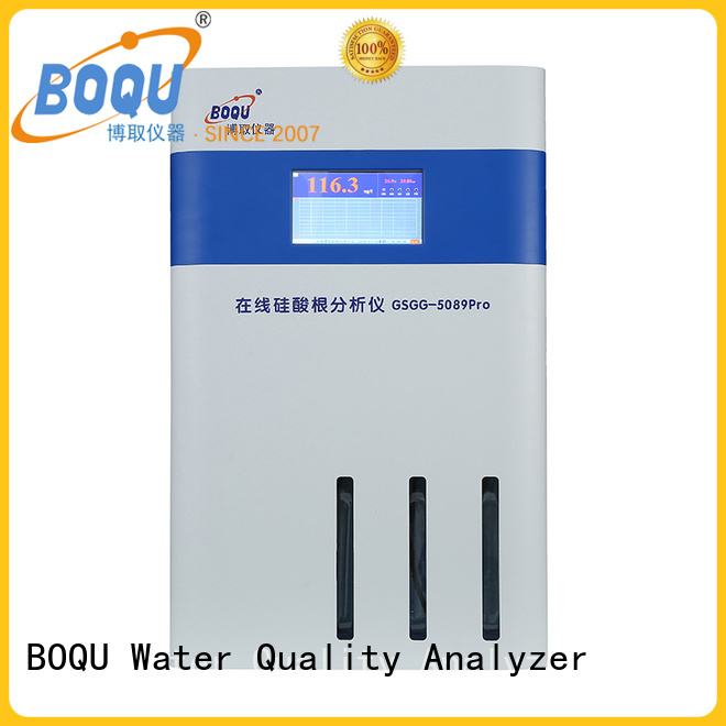 high precision online silica analyzer meter supplier for pure water treatment