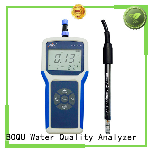 convenient portable conductivity meter from China for sewage treatment