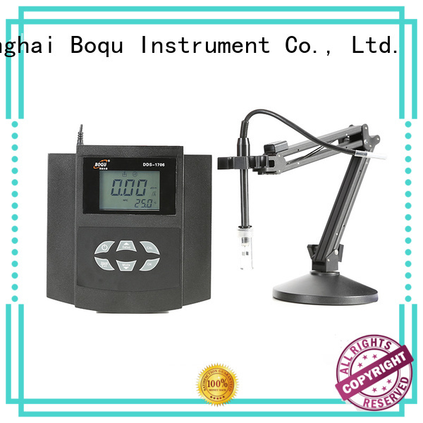 BOQU accurate benchtop conductivity meter factory direct supply for thermal power plants