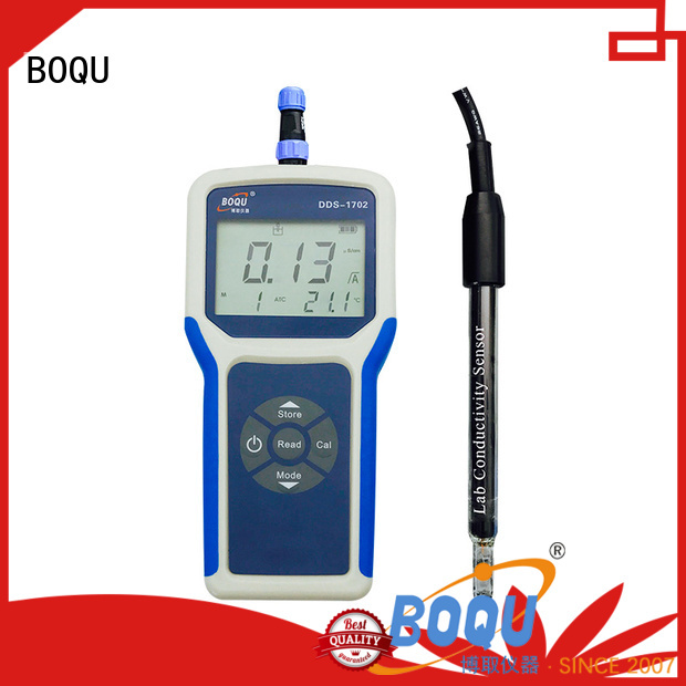 BOQU convenient portable conductivity meter from China for environmental monitoring