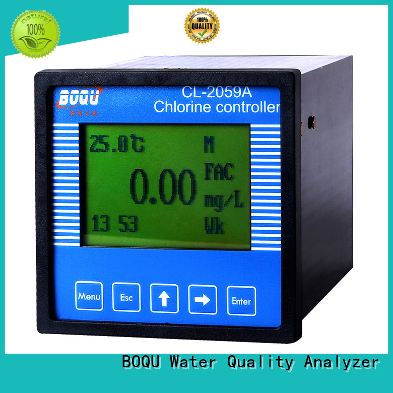 BOQU residual chlorine analyzer directly sale for hospitals