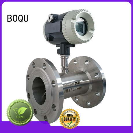 BOQU fast response turbine flowmeter directly sale for paper-making