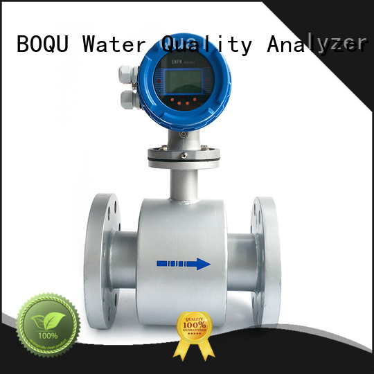 BOQU popular magnetic flow meter factory direct supply for wastewater applications