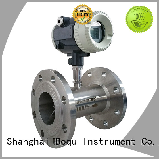 BOQU high precision turbine flow meter directly sale for measuring of liquid flow