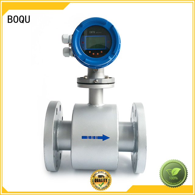 BOQU cost-effective electromagnetic flow meter directly sale for dirty liquid