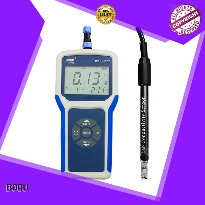 BOQU dds1702 portable conductivity meter factory direct supply for bio-medicine