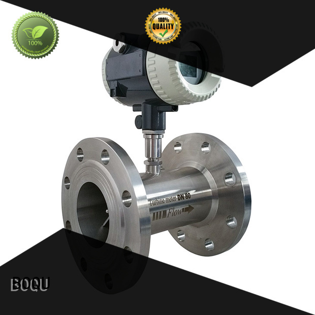 BOQU high precision turbine flow meter wholesale for environment protection