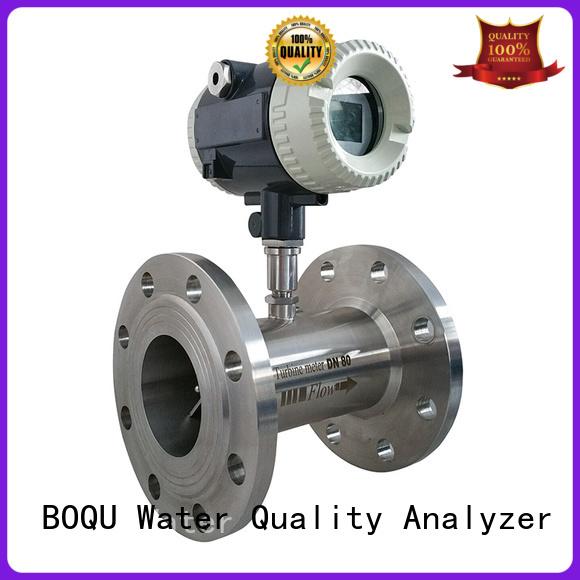 BOQU high precision turbine flowmeter wholesale for measuring of liquid flow