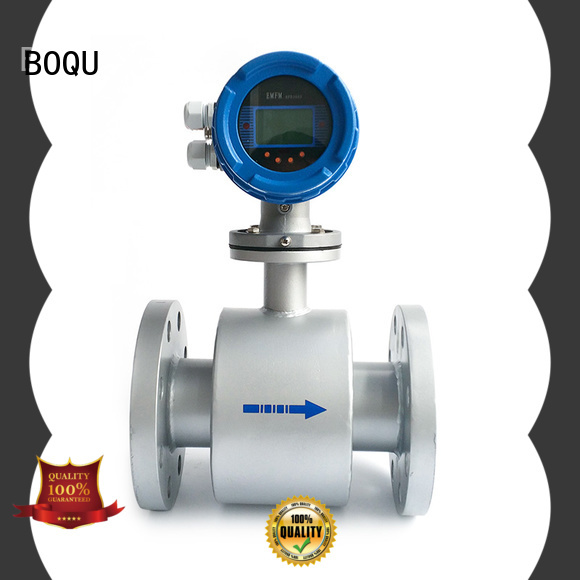 advanced electromagnetic flow meter from China for wastewater applications