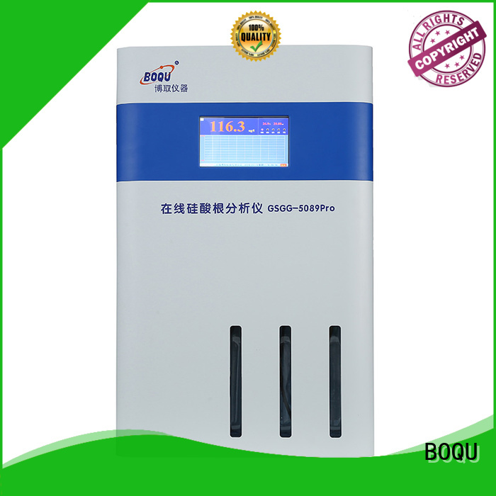 BOQU online silica analyzer supplier for water quality monitoring