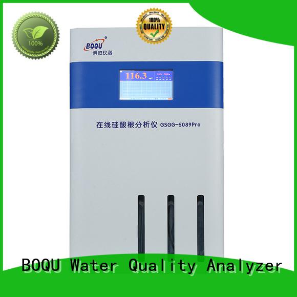 BOQU silica analyzer manufacturer for pure water treatment