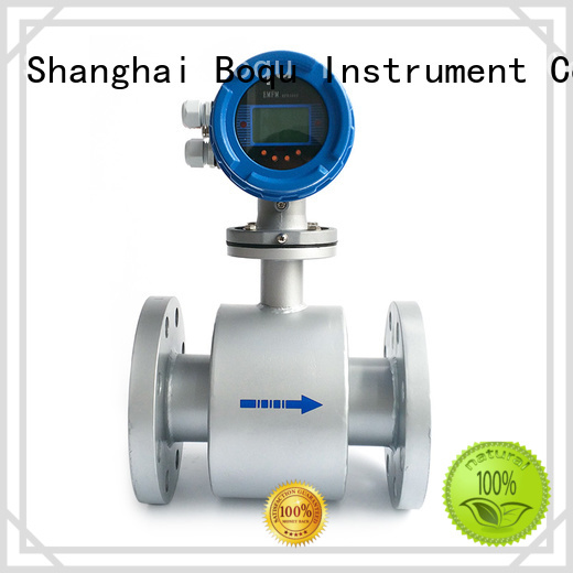 BOQU flow electromagnetic flow meter directly sale for dirty liquid