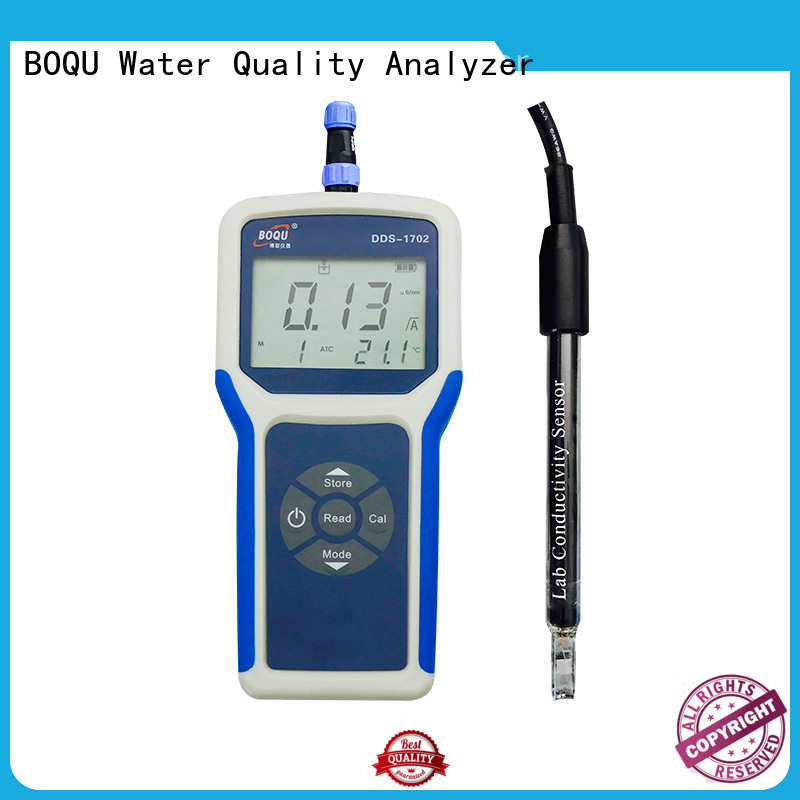 waterproof portable conductivity meter from China for sewage treatment