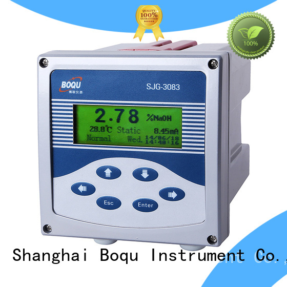 BOQU acid concentration meter supplier for water plant