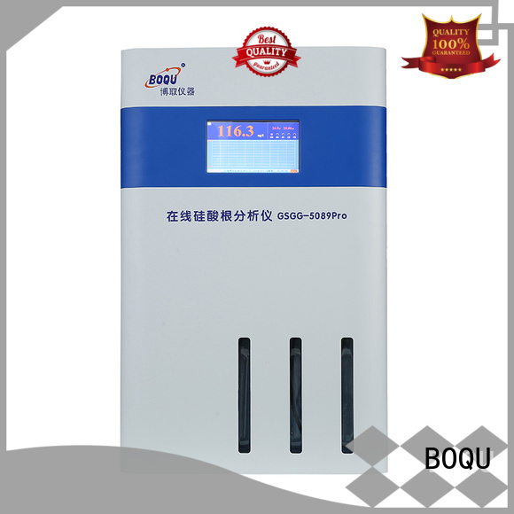 high precision silica analyzer factory direct supply for water quality monitoring