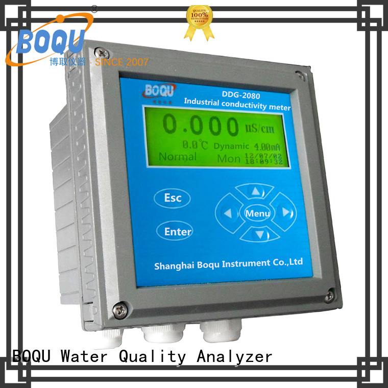 BOQU stable salinity meter directly sale for waste water