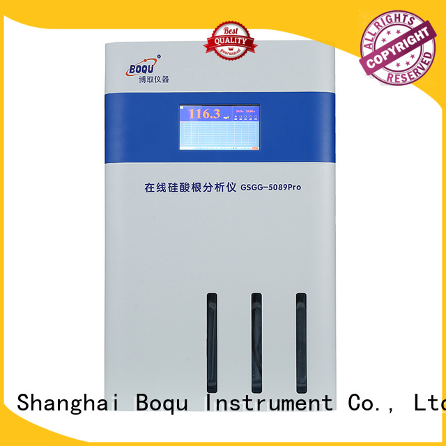 BOQU high precision online silica analyzer directly sale for water quality monitoring