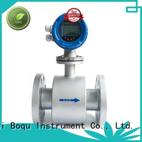 BOQU intelligent electromagnetic flow meter manufacturer for dirty liquid