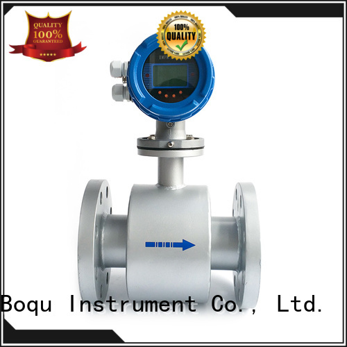 BOQU magnetic flow meter factory direct supply for wastewater applications