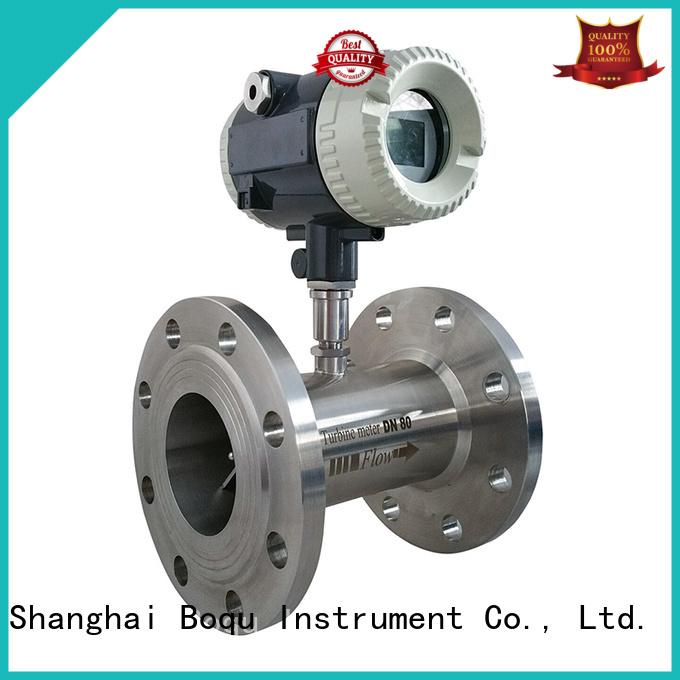 BOQU fast response turbine flowmeter directly sale for measuring of liquid flow