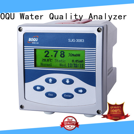 BOQU alkali concentration meter wholesale for thermal power plants